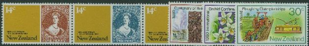 NZ SG1210a-5 Anniversaries and Events set of 6 including strip